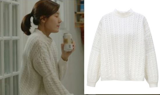 Photo of Kim Ha Neul knit airport to catch the fall fashion way